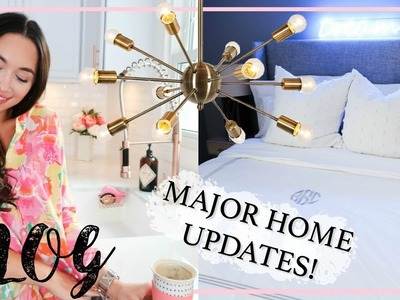 VLOG | MAJOR HOME UPDATES! | NEW FURNITURE, DECOR, D.I.Y'S | Alexandra Beuter