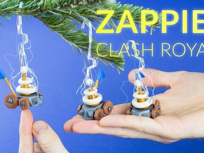 Zappies (Clash Royale) Christmas Decoration – Polymer Clay Tutorial