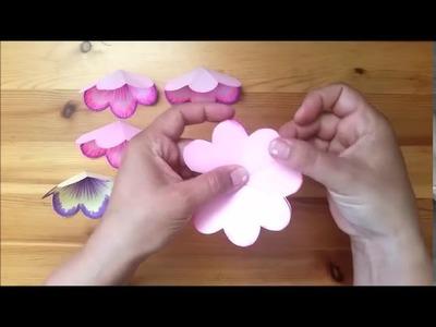 DIY 3D flower POP UP card  Art Attack  