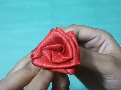 DIY Ribbon Rose Flower | How to Make Satin Ribbon Roses