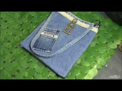 Diy Simply & Beutiful jeans bag