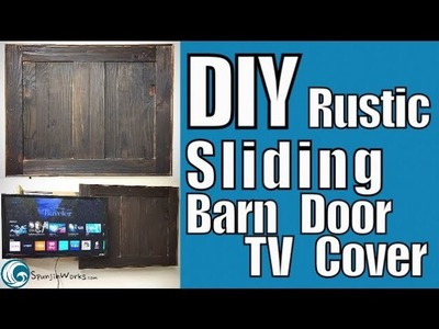 "DIY Sliding TV Cover for Vizio 24"" SmartTV. How-To (Ep. 82)"