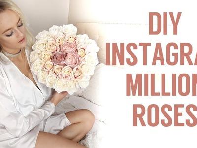 DIY THE MILLION ROSES - FOR CHEAP