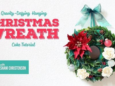 Hanging Christmas Wreath Tutorial by Shani Christenson PROMO