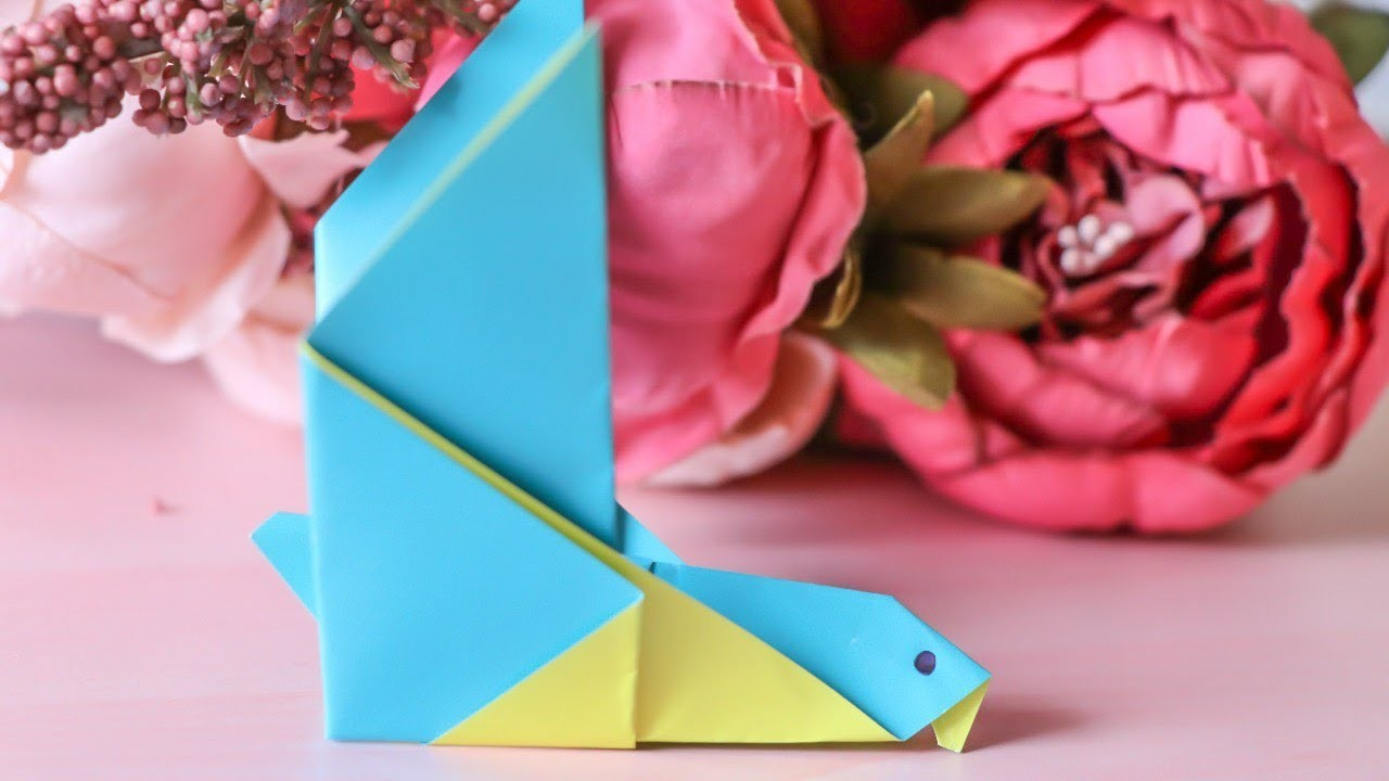 How To Make 3d Origami Pigeon Tutorial Fun And Easy Crafts For Kids
