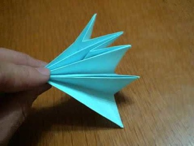 How to make an Origami Dialga (Reuploaded)