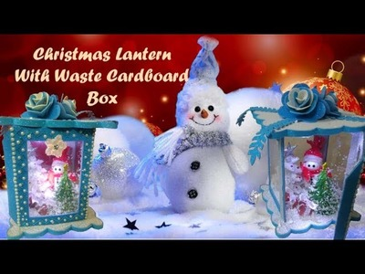 How to make Beautiful Christmas Lantern.Decorative Lantern Tutorial