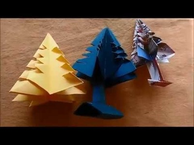 How to Make Paper Christmas Tree | Making of Paper