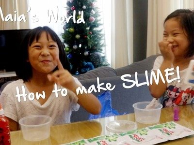 How to make SLIME (Philippines) | Maia's World
