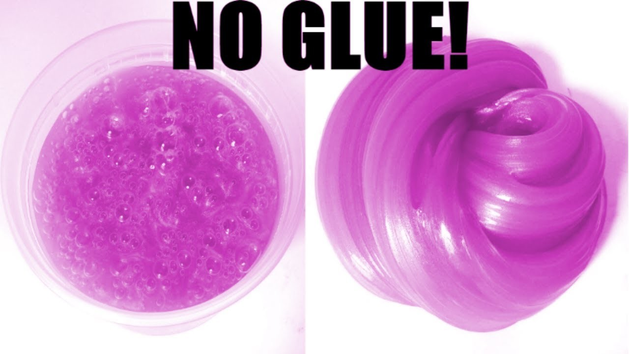 How To Make Slime Without Glue Or Any Activator No Borax No Glue