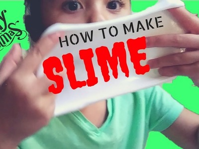 HOW TO MAKE THE BEST SLIME W.OUT BORAX - SAFE SLIME