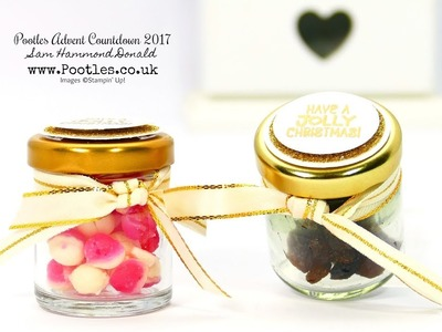 Pootles Advent Countdown #20 Cute Mini Jar Treat Tutorial