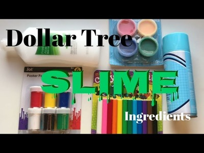 Testing Dollar Tree Slime Ingredients Part 2! Will Slime Items From The Dollar Store Work?