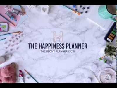 The Happiness Planner 2018: Embrace Positive Thinking, Mindfulness, and Self-Development.