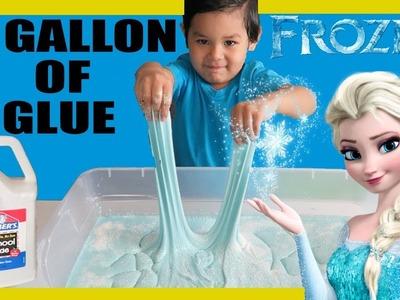 1 GALLON OF ELMERS GLUE DIY SLIME  FROZEN ELSA