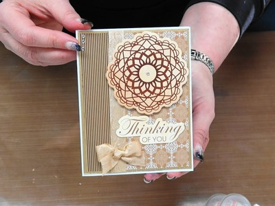 #228 Turning items you want to toss away into stunning embellishments by Scrapbooking Made Simple