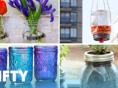 7 Fun and Functional Mason Jar Projects
