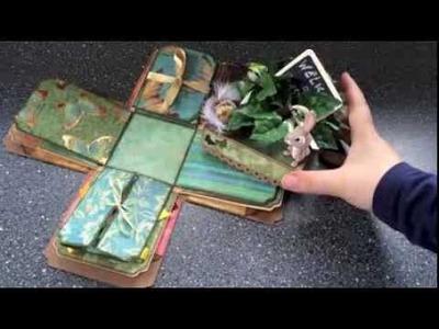 An Explosion of Joy - a springtime explosion box