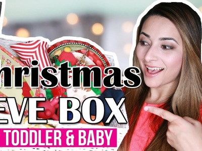 CHRISTMAS EVE BOX IDEAS 2017 - BABY & TODDLER | WHAT'S IN MY KIDS CHRISTMAS EVE BOX? | Ysis Lorenna