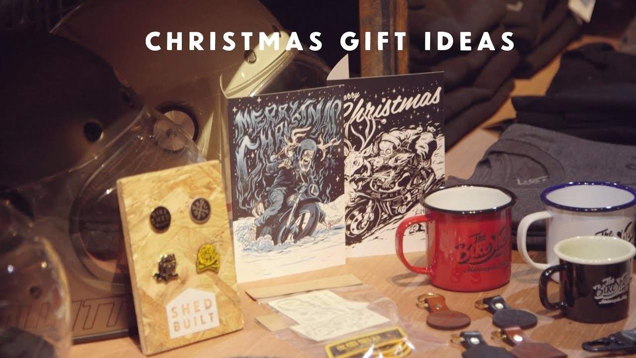 Christmas Gift Ideas at The Bike Shed Motorcycle Club
