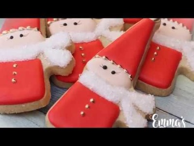 Christmas Gnome Cookies by Emma's Sweets