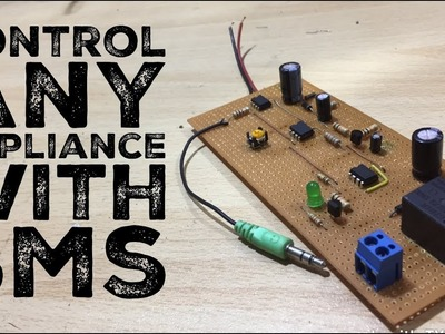 DIY Control Any Appliance With SMS or Whatsapp
