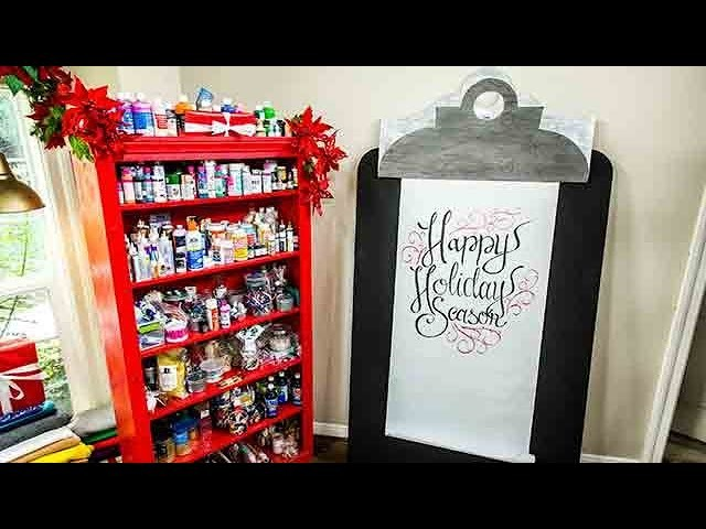 DIY Giant Clipboard - Home & Family