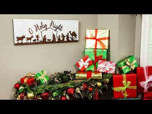 DIY Nativity Scene - Home & Family