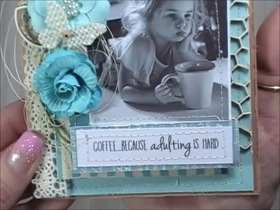 Diy Shabby Chic Cards Tutorial- 3 Designs
