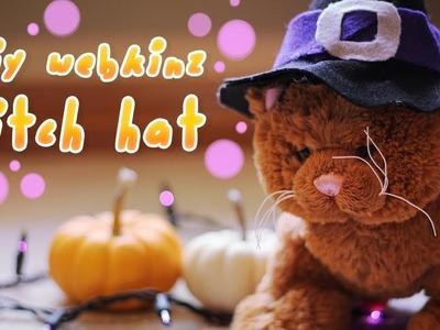 DIY: Webkinz Witch Hat