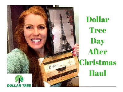 Dollar Tree Day After Christmas Haul December 26, 2017 Wishlist Items!