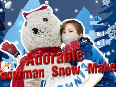 E29 ❉Making a Snowman Snowmaker to give u a White&Pink&Green&Blue-the Colorful Christmas | Ms Do