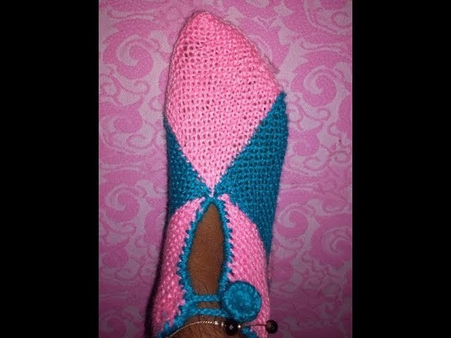 Easy Two coloured stylish socks in Hindi||♥Latest