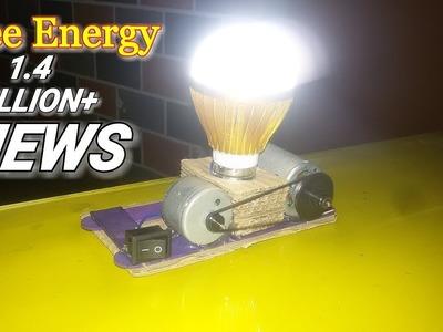 Free Energy LED light  12v-Using piezo lgniter