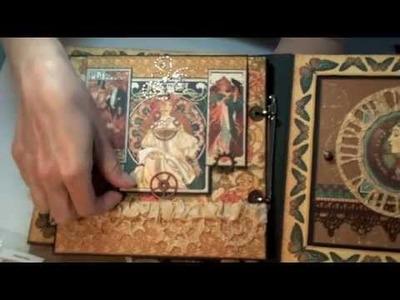 G45 Steampunk Debutante Mini Album