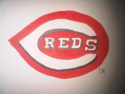 How to Draw the Cincinnati Reds logos