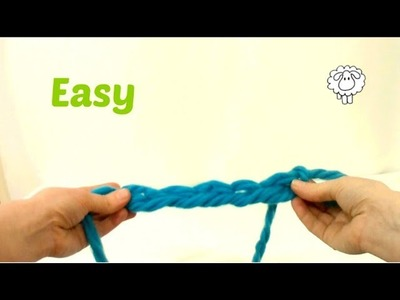 How to Finger Crochet a Chain Stitch