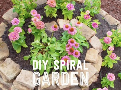 How to Make a Spiral Garden - Way to Grow - HGTV