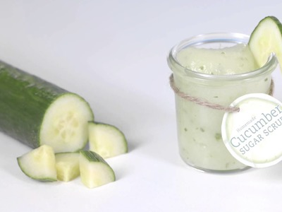 How to Make Cucumber Sugar Scrub, Dreamsicle Sugar Scrub, Coconut Lime Sugar Scrub