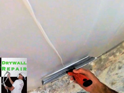 How to skim coat a wall in less then 10 minutes | Diy Drywall Tips and Tricks