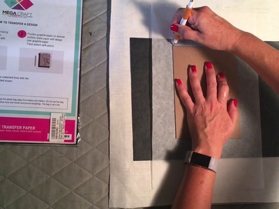 How to: transfer design to fabric