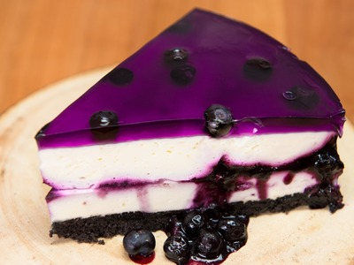 Huckleberry.Blueberry Cheesecake (No Bake Recipe) from Cookies Cupcakes and Cardio