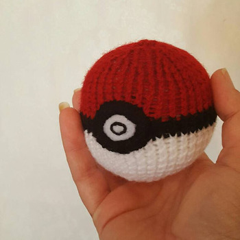knitted pokemon soft toy soft play stress ball