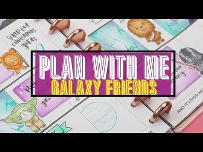 New Release + Plan with me|Happy Planner|Galaxy theme