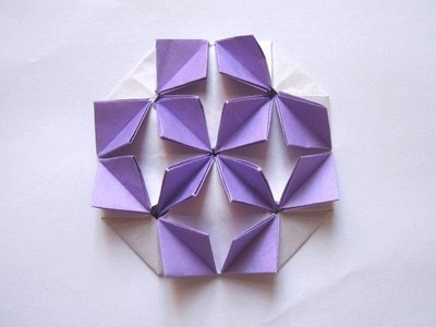 "Origami ""Crowding Butterflies"" by Shuzo Fujimoto (Part 1 of 2)"