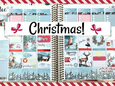 Plan With Me | Christmas | Dec 25-31 | Erin Condren Life Planner