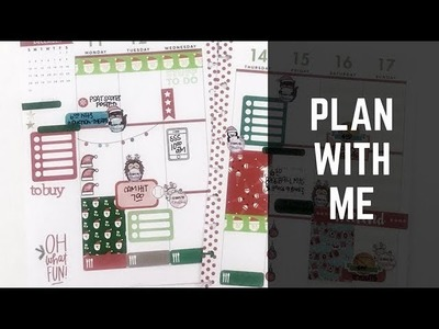 Plan With Me: Dec 11-17, 2017 [Create 365 The Happy Planner® stickers + stamps how to]