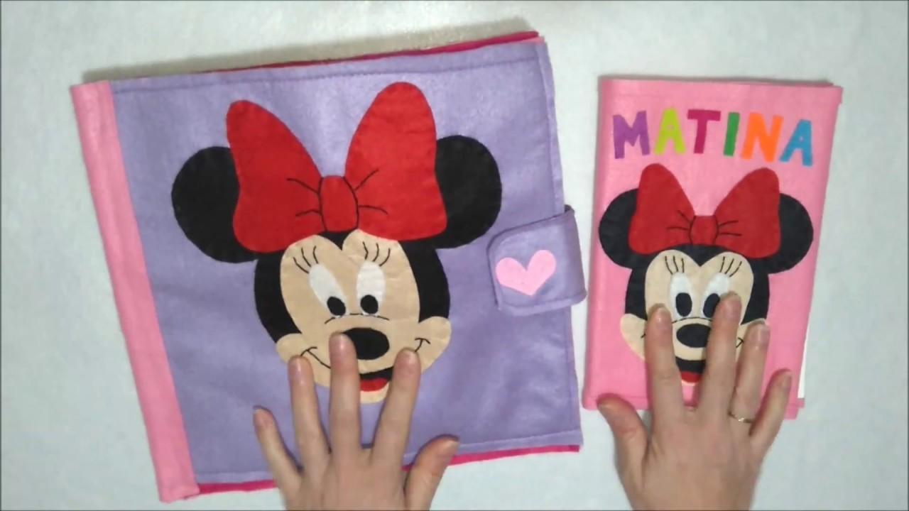 Quiet book Minnie