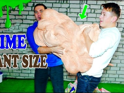 THE MOST GIGANTIC SLIME IN THE WORLD - SLIME GIANT SIZE - DIY