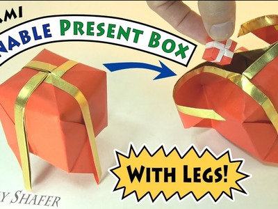 The Openable Present Box Ball with Legs!